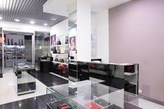 Luksusowy europejski torba sklep Obrazy Royalty Free