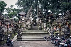 Luksusowy hotel na Bali zdjęcia royalty free