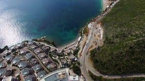 Luksusowy hotel powikłany Dukley w Budva, Montenegro Strzelać z zbiory wideo