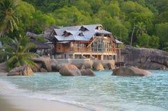 Luksusowy hotel w mahe wyspie Fotografia Royalty Free