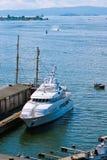 luksusowy intymny jacht Fotografia Royalty Free