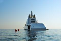 Luksusowy jacht A Zdjęcia Stock