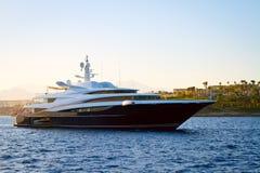 luksusowy jacht obrazy stock
