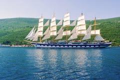 Luksusowy jacht. Fotografia Stock