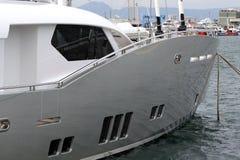 Luksusowy jacht Fotografia Royalty Free