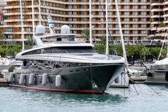 Luksusowy jacht Fotografia Stock