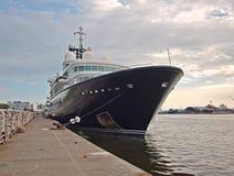 Luksusowy Jacht Le Uroczysty Bleu w Tajwan Zdjęcia Royalty Free