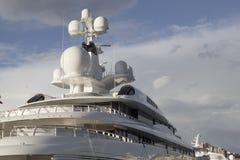Luksusowy jachtu szczegół Obrazy Stock