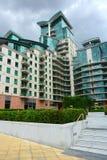 Luksusowy kompleks apartamentów Zdjęcia Stock