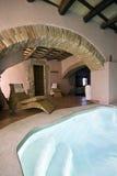 luksusowy kryty basen Zdjęcie Royalty Free
