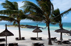 Luksusowy kurort w Mauritius Fotografia Royalty Free