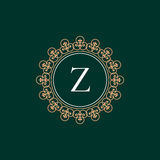 Luksusowy loga rocznik Obrazy Royalty Free