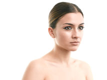 Luksusowy makijażu portret Fotografia Stock