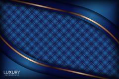 Luksusowy marynarki wojennej królewskiego błękita elegancki tło ilustracji
