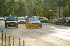 Luksusowy Mercedes-Benz S63 AMG Zdjęcie Royalty Free