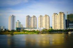 Luksusowy mieszkanie w chi minh mieście Ho, Wietnam Fotografia Stock
