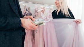 Luksusowy moda butik robi zakupy drog? tog? fotografia royalty free