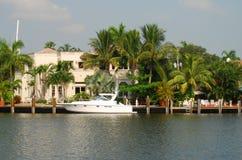 luksusowy nadbrzeża w domu Zdjęcie Stock