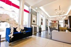 Luksusowy okulisty sklep w Polska Zdjęcie Royalty Free