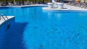 Luksusowy pływacki basen Obrazy Stock