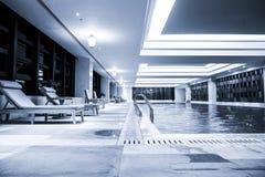 Luksusowy pływacki basen Fotografia Stock