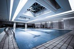 Luksusowy pływacki basen Zdjęcie Stock
