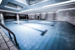 Luksusowy pływacki basen Obraz Stock