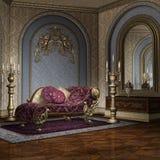 Luksusowy pokój royalty ilustracja