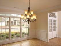 luksusowy pokój wylewny okno Zdjęcia Stock