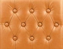 Luksusowy pomarańczowy rzemienny tło Fotografia Stock