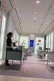 luksusowy prada sklepu działanie Zdjęcia Stock