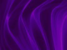 Luksusowy purpurowy tło, drapujący fałdy błyszczący purpurowy materiał Obraz Royalty Free