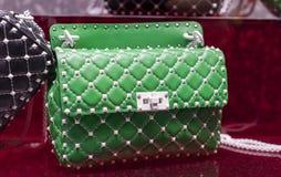 Luksusowy ręk toreb valentino Obraz Stock