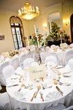 luksusowy recepcyjny ślub Zdjęcia Royalty Free