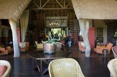 Luksusowy safari hotel w Afryka Zdjęcia Stock