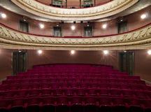 luksusowy sala teatr obraz royalty free
