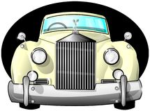 Luksusowy samochód Fotografia Royalty Free