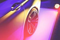 Luksusowy samochodowy przedstawienie obraz royalty free