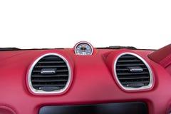 Luksusowy samochodowy wnętrze obrazy royalty free