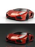 Luksusowy sportowy samochód royalty ilustracja