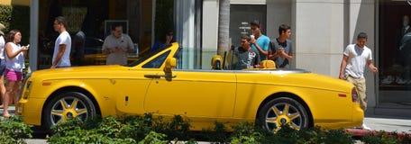 Luksusowy sportowy samochód Fotografia Stock