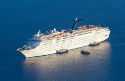 Luksusowy statek wycieczkowy Zdjęcia Stock