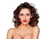 Luksusowy supermodel Fotografia Stock