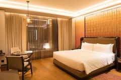 Luksusowy sypialnia apartament zdjęcia stock