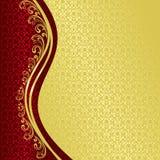 Luksusowy tło dekorował rocznika ornament. Zdjęcia Royalty Free