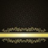 Luksusowy tło dekorował rocznika ornament. ilustracja wektor
