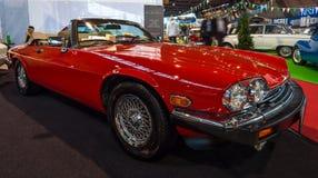 Luksusowy Uroczysty Tourer samochodowy Jaguar XJ-S V12, 1990 Zdjęcie Stock