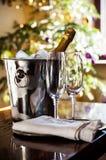 Luksusowy wakacje stołu położenie zdjęcia stock
