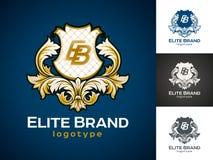Luksusowy wektorowy logo ilustracji