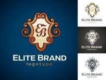 Luksusowy wektorowy logo royalty ilustracja